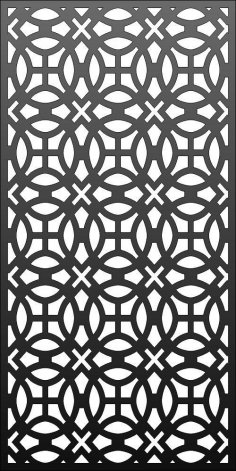 Laser Cut Screen Pattern Template SVG File