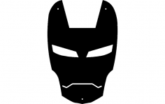 Iron Man dxf File