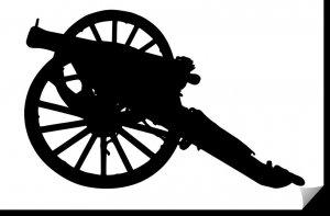 Napoleon Cannon dxf file