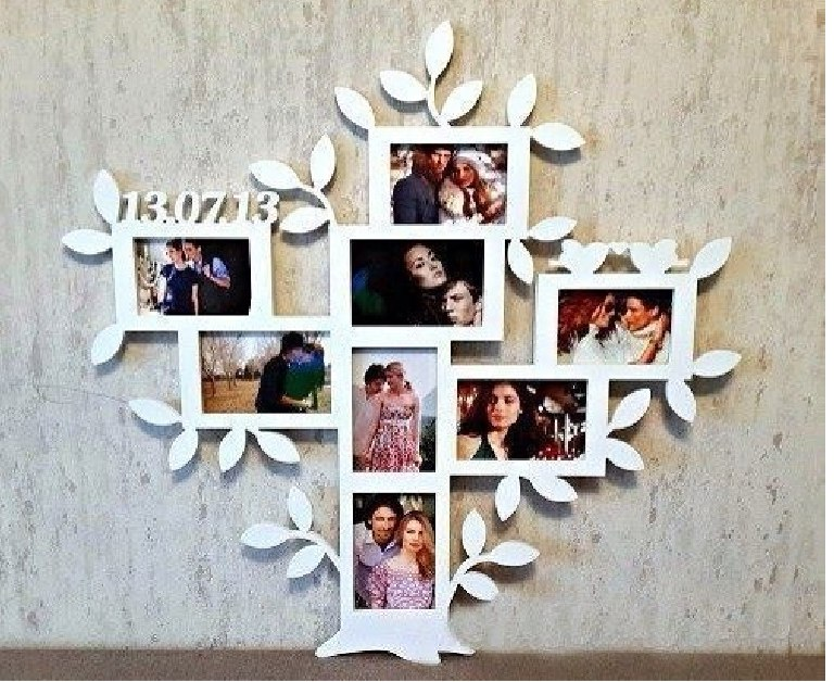 Family Tree Picture Frame Free Vector