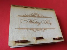 Wooden Box Wedding Free Vector
