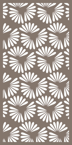 Indoor Privacy Screen Pattern Vector Free Vector