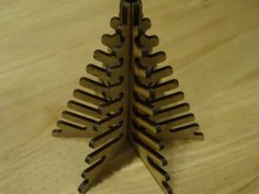 Decorative Wooden Tree DXF File