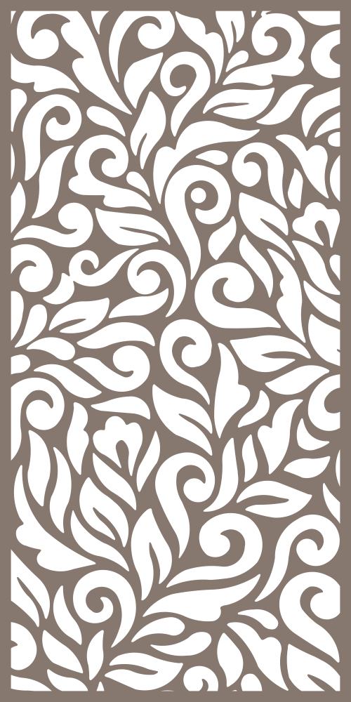 Abstract Floral Seamless Pattern Free Vector