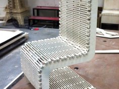 Live Hinge Chair DXF File