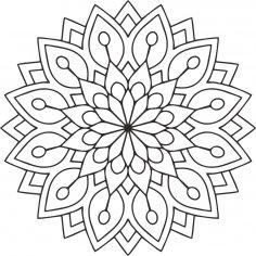 Mandala Des Flower Free Vector