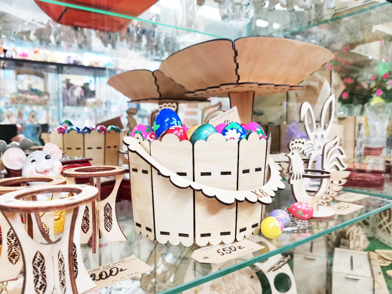 Laser Cut Wooden Easter Decorations Free Vector