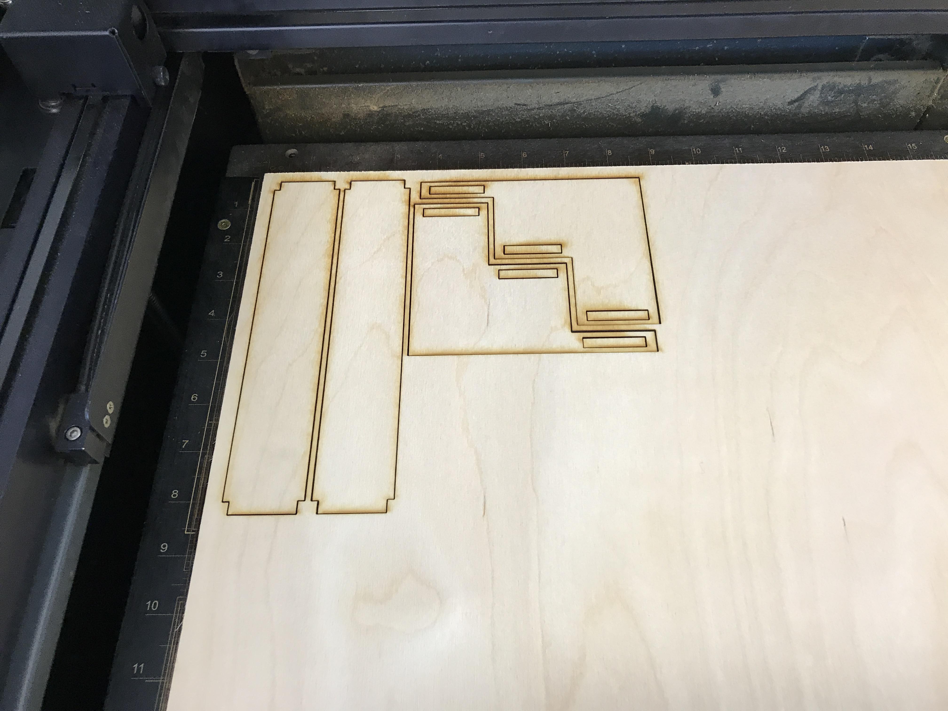 Laser Cut Adjustable Spice Rack Free Vector