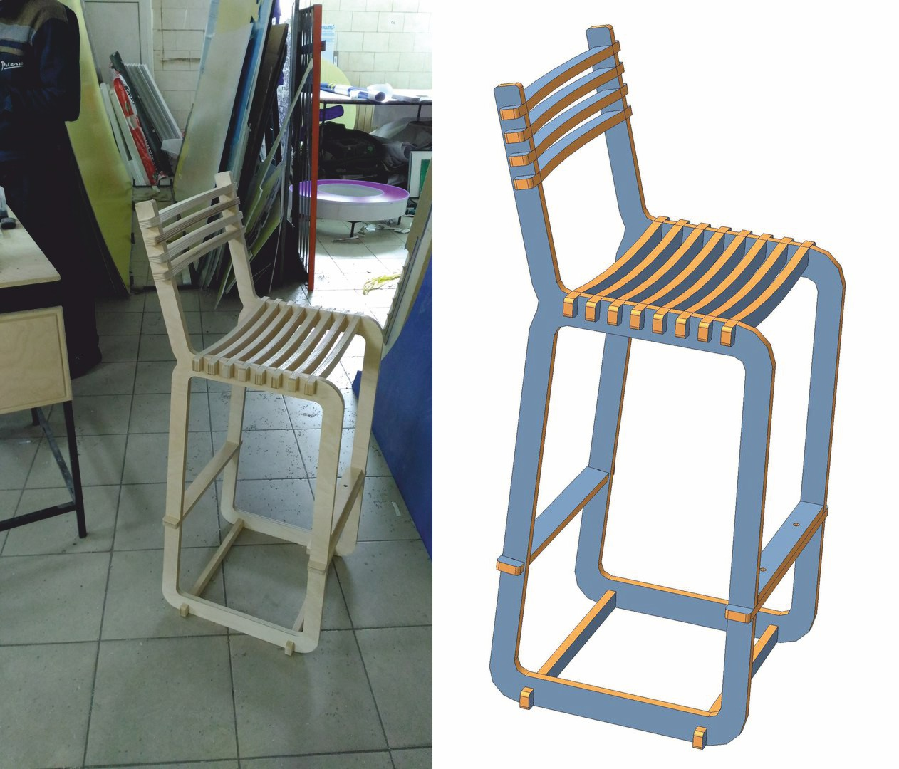 The Windsor Chair DXF File