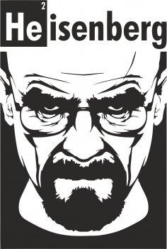 Heisenberg Print EPS File