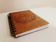 Laser Cut Notebook DXF File