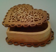 Scroll Saw Heart Box PDF File