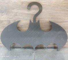 Laser Cut Batman Hanger Free Vector