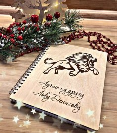 Laser Cut Decorative Engraved Notebook Covers Free Vector