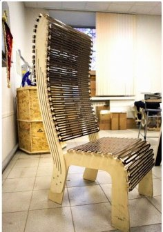 Chair dxf file