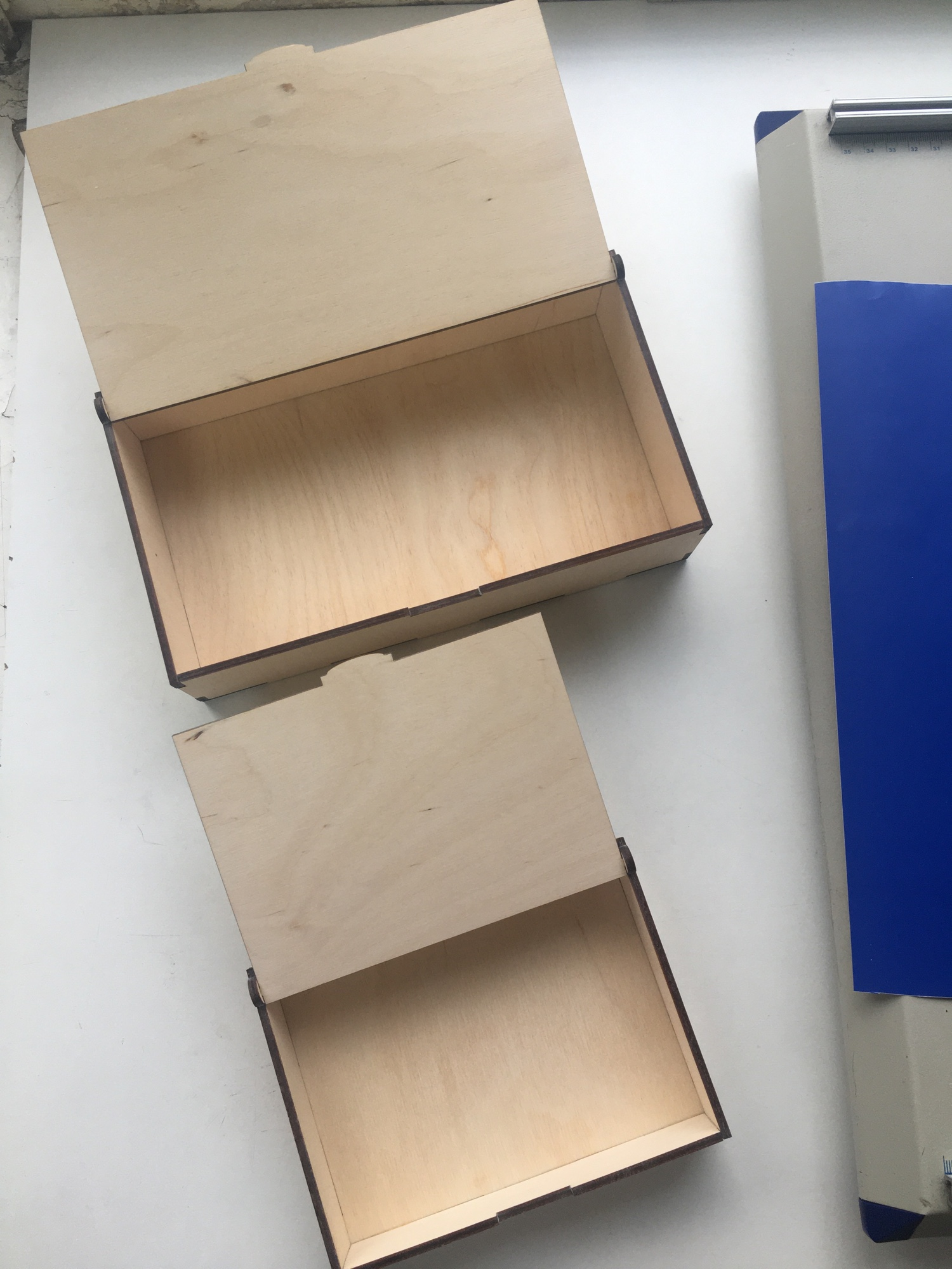 Laser Cut Wooden Boxes With Lids Free Vector