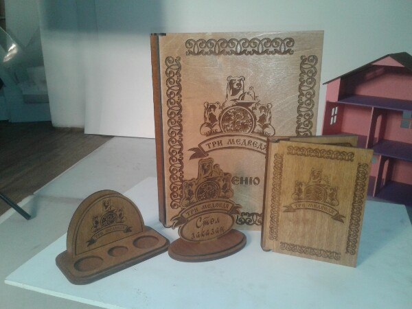 Laser Cut Napkin Holder With Salt And Pepper Caddy Free Vector