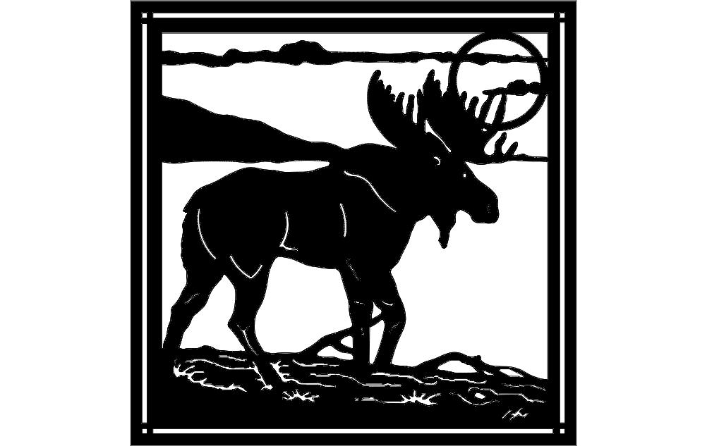 Moose 5 dxf File
