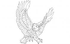 Eagle Attack dxf File