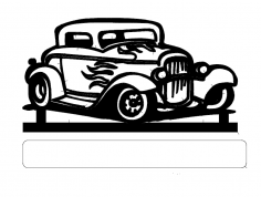 Old Car dxf File