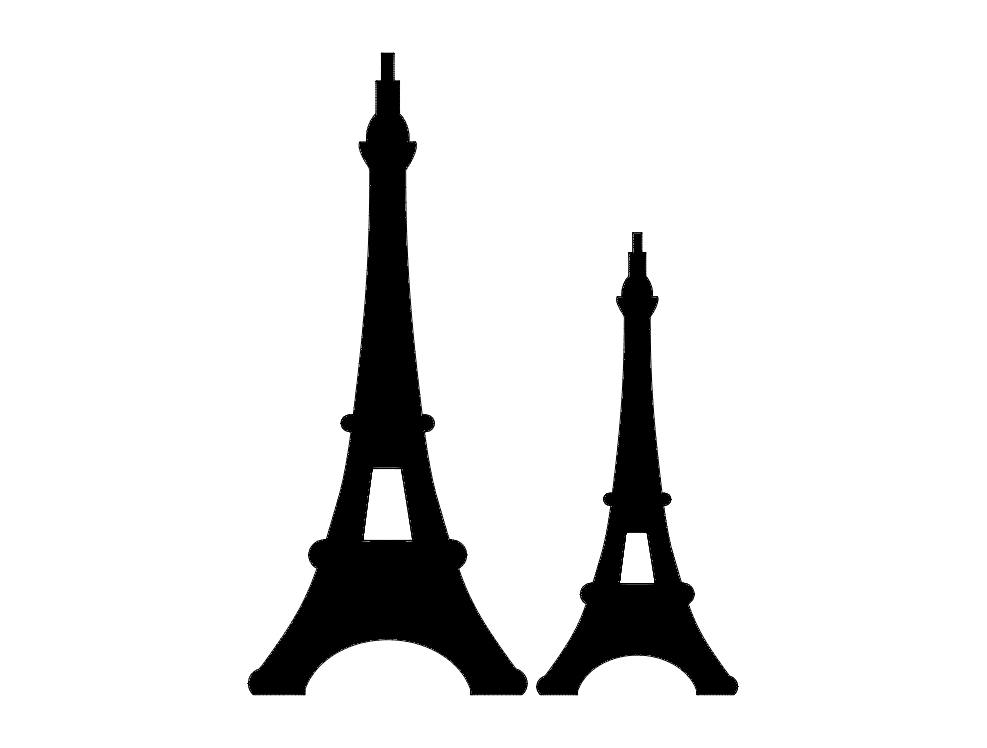Eiffel Tower dxf File