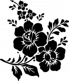 Rose Flower Vector Vector Art jpg Image