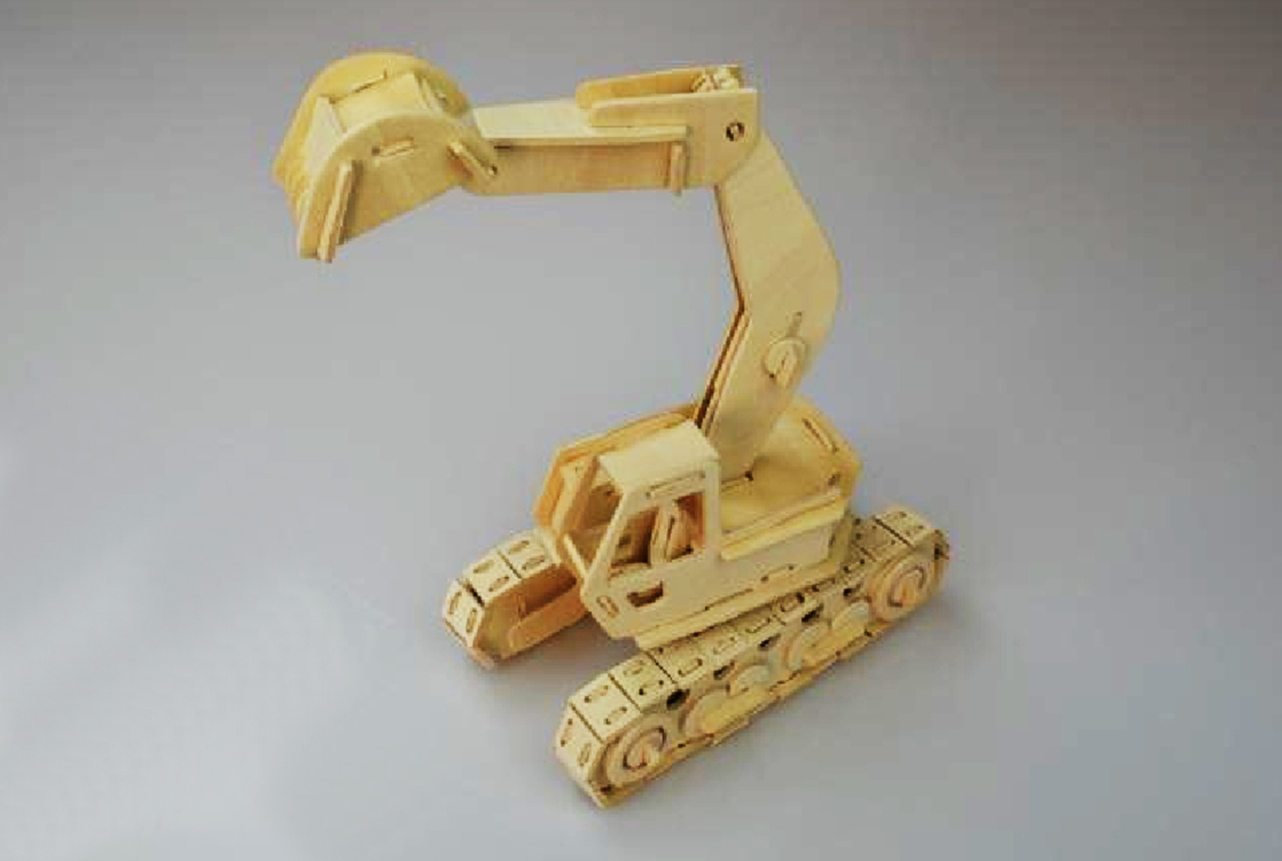Excavator Model Laser Cutting plans PDF File