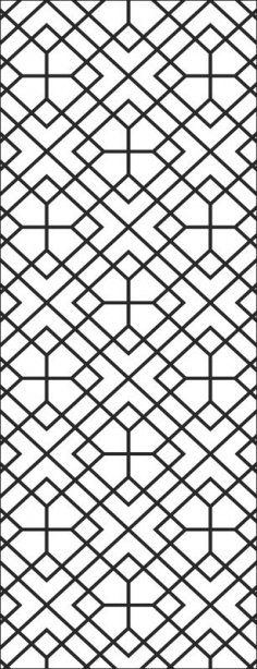 Seamless metal lattice vector EPS File