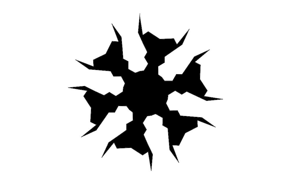 Flake1xb dxf File