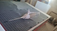 Swordfish 3D Laser Cut PDF File