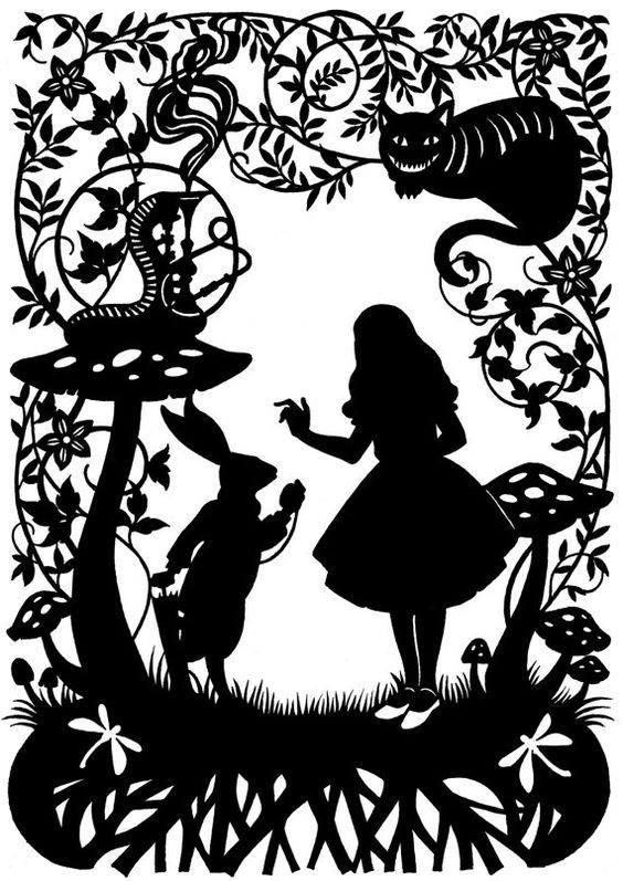 Alice In Wonderland DXF File