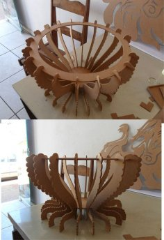 Fruit Bowl CNC Cut File Laser PDF File