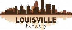 Louisville Skyline Free Vector
