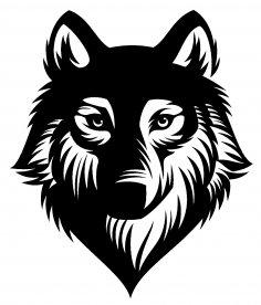 Wolf Stencil PDF File