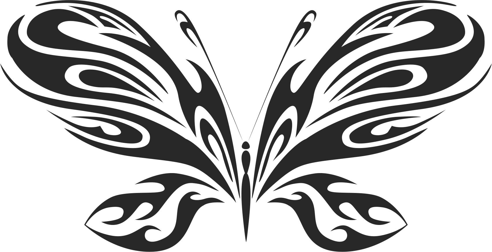 Butterfly Vector Art 020 Free Vector
