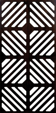 Decorative grille dxf File