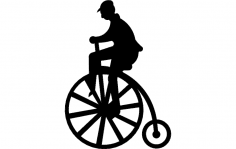 High wheeler dxf File