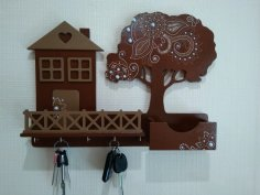 Decorative Key Holder For Wall