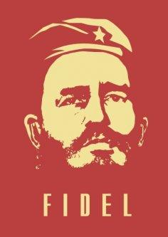 Fidel Castro Free Vector