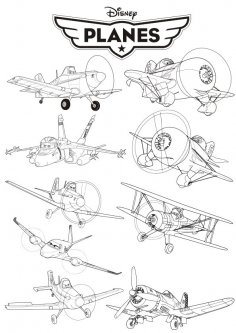 Disney Planes CDR File