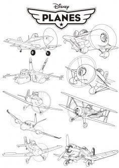 Disney Planes Free Vector