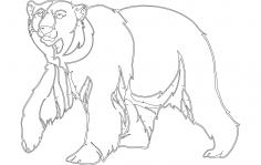 Bear dxf File