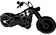 Chopper dxf File