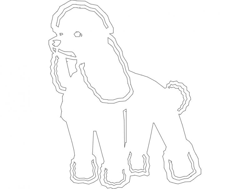 Basic Poodle dxf File