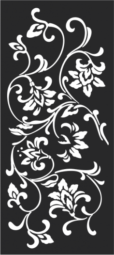 Ceiling Grille Detail Stencil Free Vector