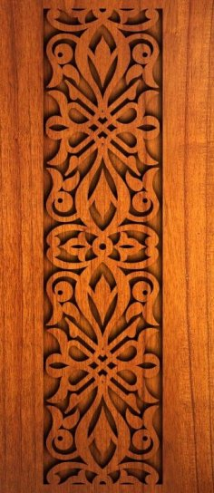 Wood Carving Pattern dxf File