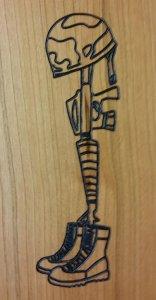 Helmet rifle boots.dxf