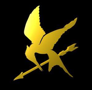 hunger games mockingbird pin.dxf