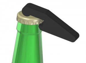 Bottle Opener dxf