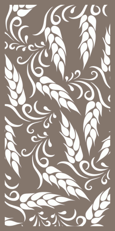 Laser Cut Decorative Screen Free Vector